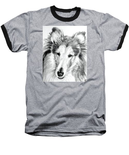 Collie Rough Lover Baseball T-Shirt