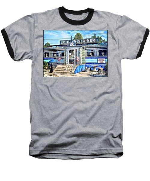 Collin's Diner New Canaan,conn Baseball T-Shirt