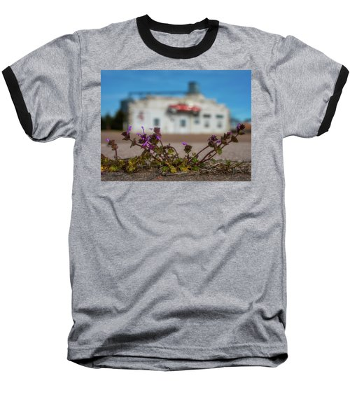 Baseball T-Shirt featuring the photograph Collyer Sidewalk Blooms by Darren White