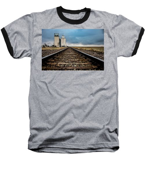 Baseball T-Shirt featuring the photograph Collyer Tracks by Darren White