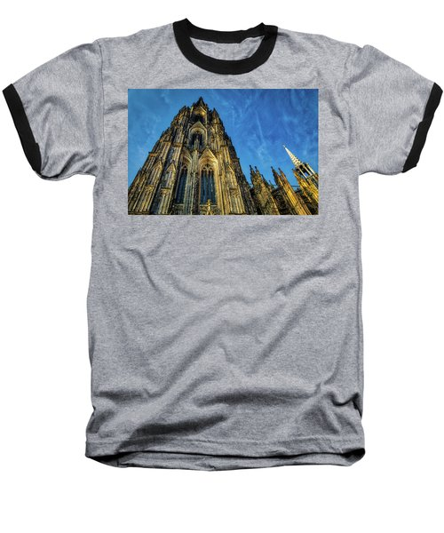 Cologne Cathedral Afternoon Baseball T-Shirt