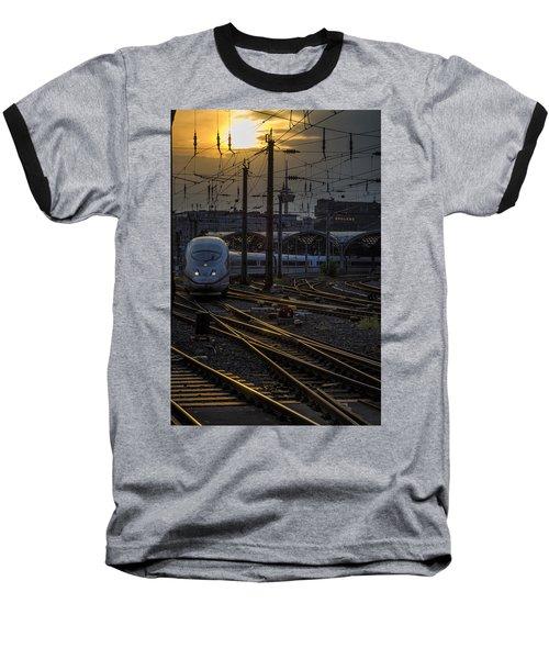 Cologne Central Station Baseball T-Shirt