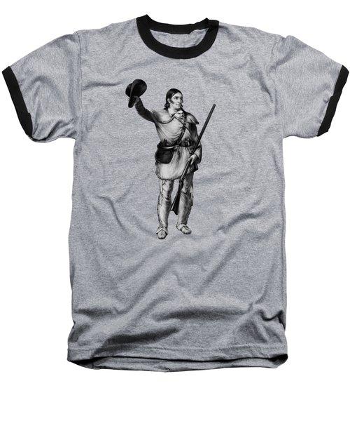 Colonel Davy Crockett Baseball T-Shirt by War Is Hell Store