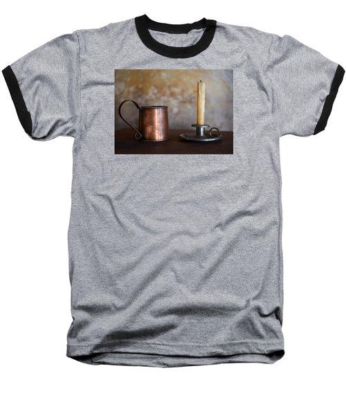 Colonial Era Necessities Baseball T-Shirt by Stephen Flint