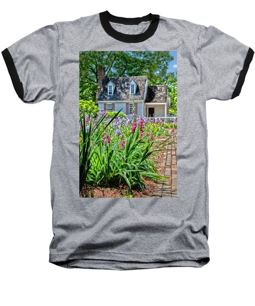 Colonial Garden1 Baseball T-Shirt