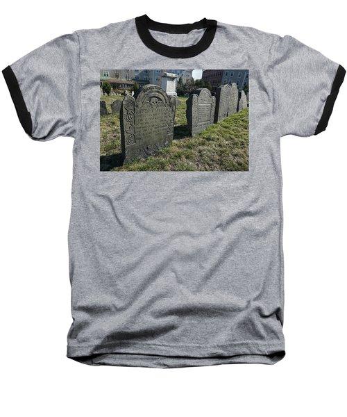 Colonial Graves At Phipps Street Baseball T-Shirt