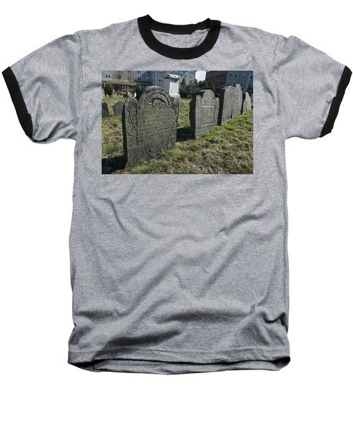 Colonial Graves At Phipps Street Baseball T-Shirt