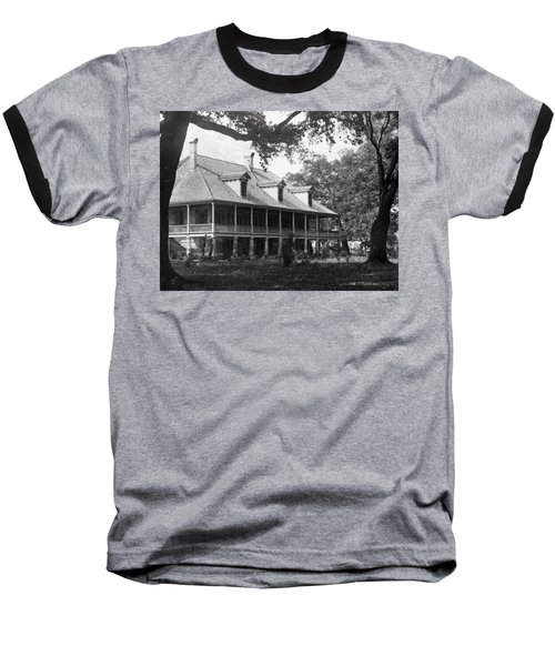 Colonial Home Baseball T-Shirt