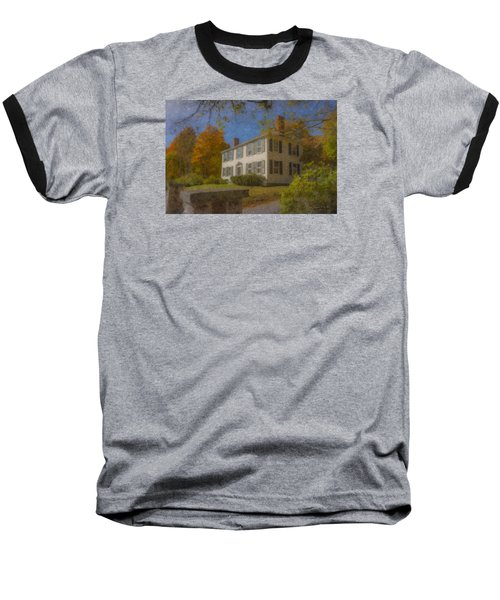 Colonial House On Main Street, Easton Baseball T-Shirt