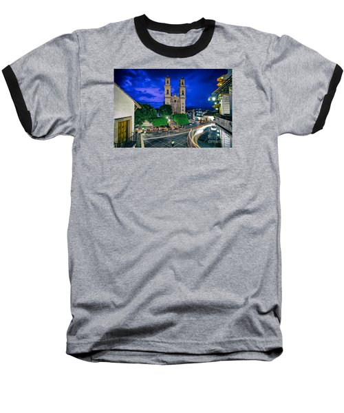 Colonial Town Of Taxco, Mexico Baseball T-Shirt