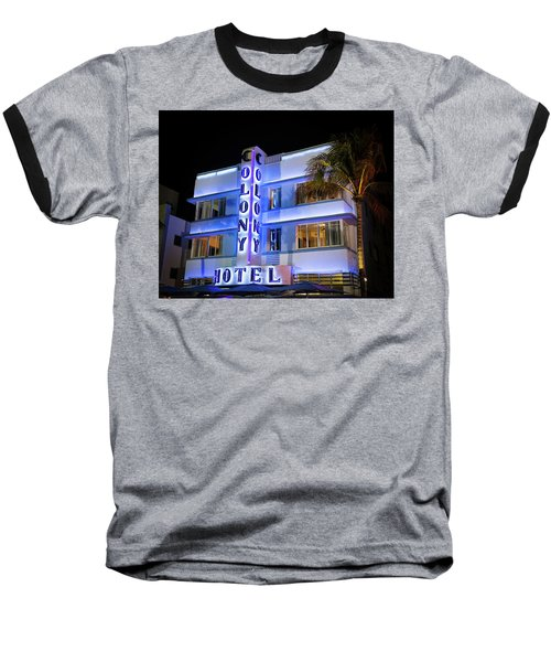 Colony Hotel Baseball T-Shirt