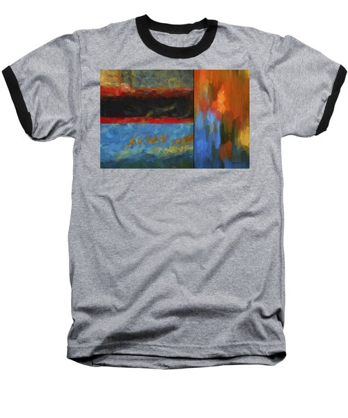 Color Abstraction Li  Baseball T-Shirt