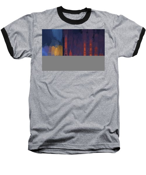 Color Abstraction Lii Baseball T-Shirt