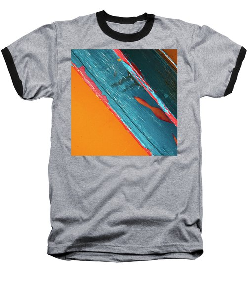 Color Abstraction Lxii Sq Baseball T-Shirt