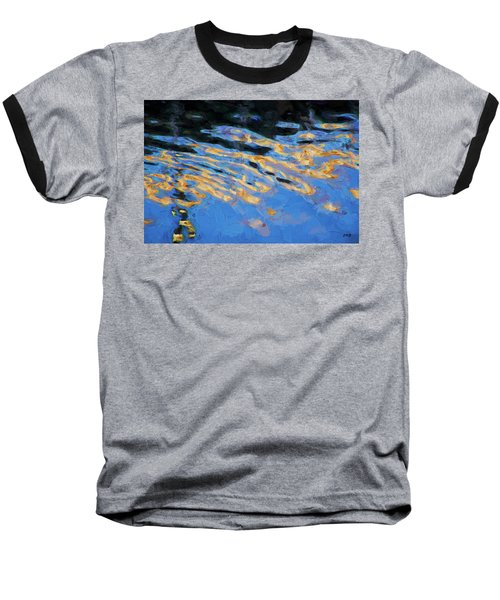 Baseball T-Shirt featuring the photograph Color Abstraction Lxiv by David Gordon
