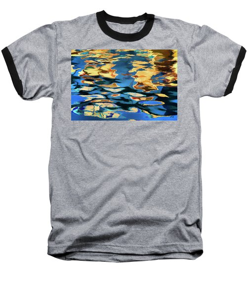 Baseball T-Shirt featuring the photograph Color Abstraction Lxix by David Gordon