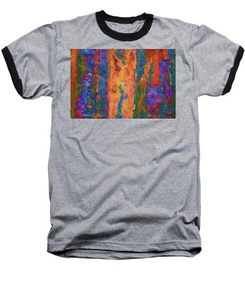 Color Abstraction Lxvi Baseball T-Shirt