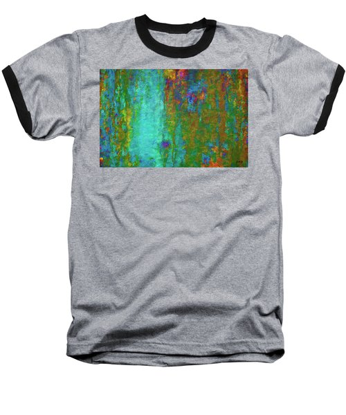 Baseball T-Shirt featuring the photograph Color Abstraction Lxvii by David Gordon