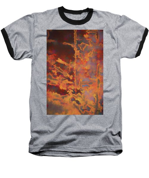 Color Abstraction Lxxi Baseball T-Shirt