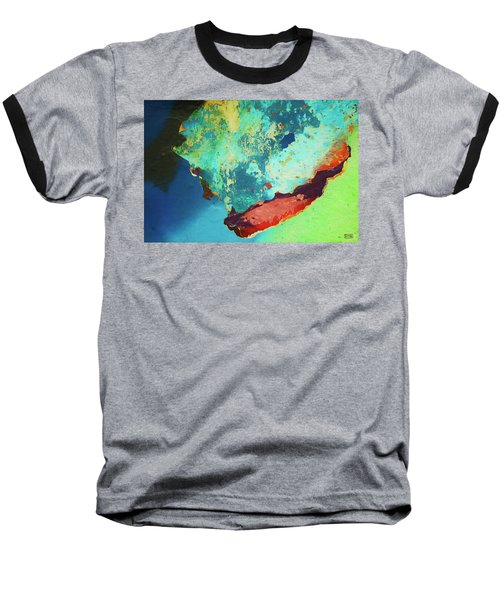 Baseball T-Shirt featuring the photograph Color Abstraction Lxxvi by David Gordon