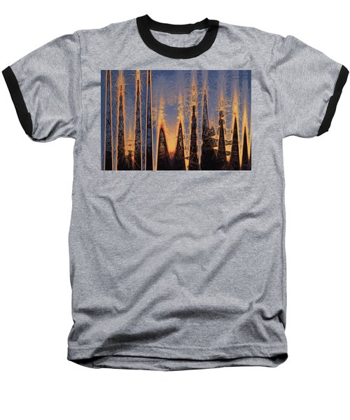Baseball T-Shirt featuring the photograph Color Abstraction Xl by David Gordon