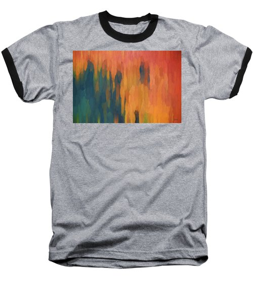 Color Abstraction Xlix Baseball T-Shirt