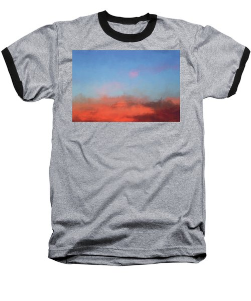 Color Abstraction Xlvii - Sunset Baseball T-Shirt