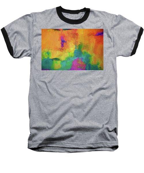 Color Abstraction Xxxiv Baseball T-Shirt