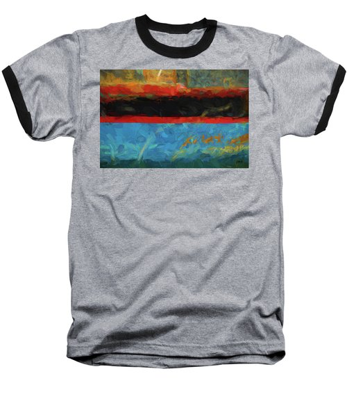 Baseball T-Shirt featuring the photograph Color Abstraction Xxxix by David Gordon