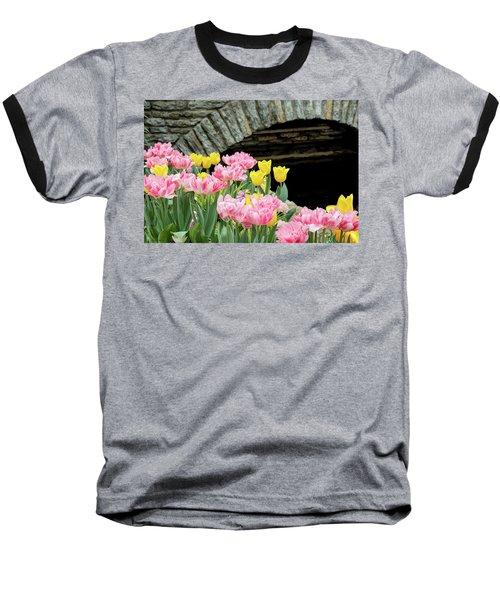 Color Along The Pond Baseball T-Shirt