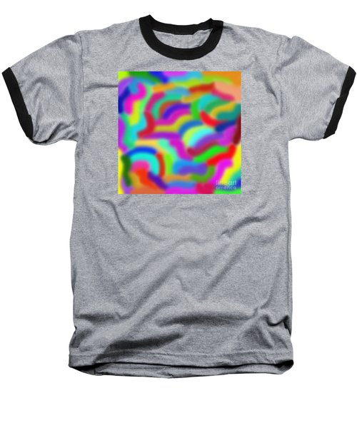 Color Around Baseball T-Shirt