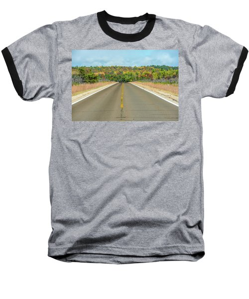 Color At Roads End Baseball T-Shirt
