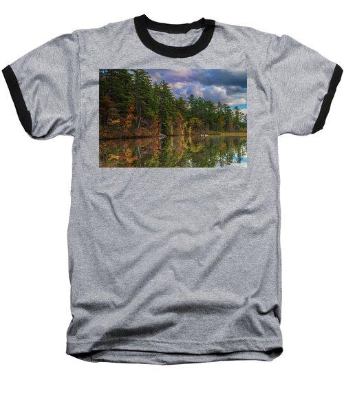 Color At Songo Pond Baseball T-Shirt