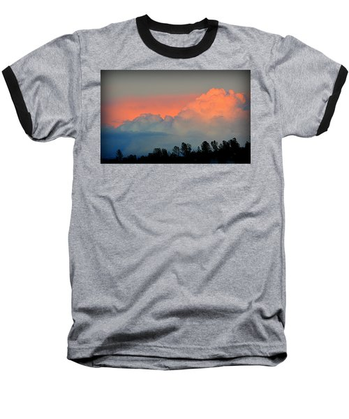Baseball T-Shirt featuring the photograph Color Burst by AJ Schibig