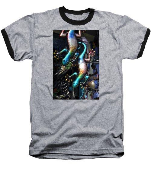 Baseball T-Shirt featuring the photograph Color Caudata by Allen Carroll