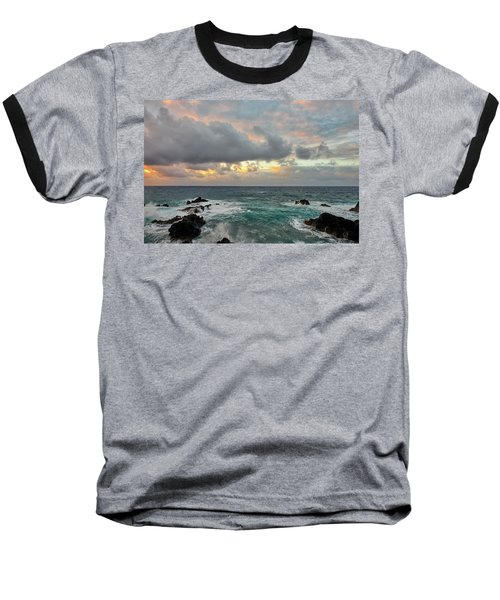 Color In Maui Baseball T-Shirt