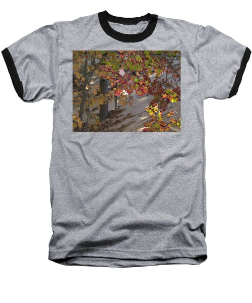 Baseball T-Shirt featuring the photograph Color In The Dunes by Tara Lynn