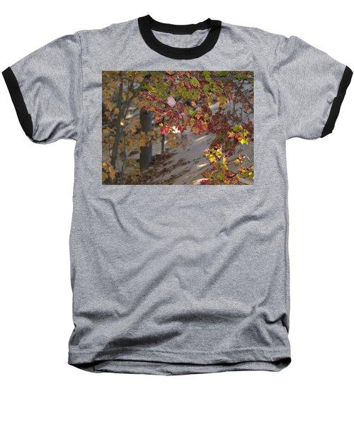 Color In The Dunes Baseball T-Shirt by Tara Lynn