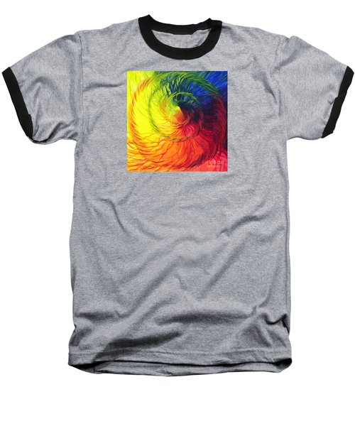 Color Baseball T-Shirt by Jeanette Jarmon
