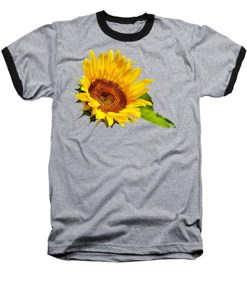 Color Me Happy Sunflower Baseball T-Shirt