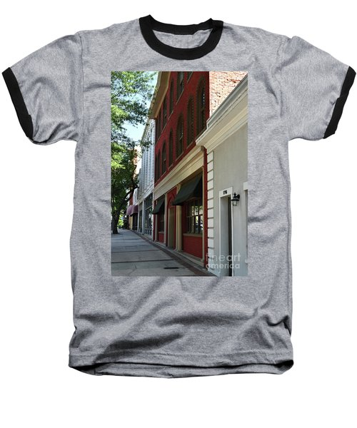 Baseball T-Shirt featuring the photograph Color Me Main St Usa by Skip Willits