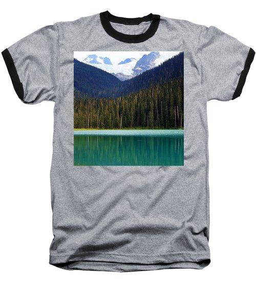 Lower Joffre Lake Baseball T-Shirt by Heather Vopni