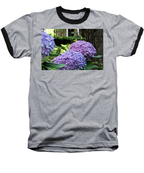Color Of Summer Baseball T-Shirt by Ed Waldrop