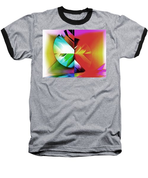 Color Of The Fractal Baseball T-Shirt