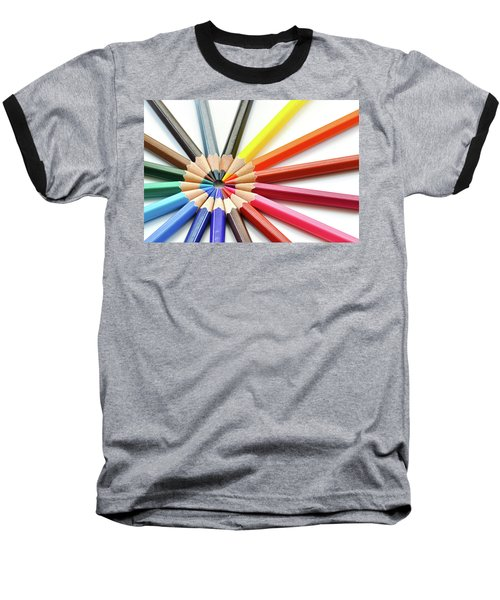 Color Pencils Baseball T-Shirt