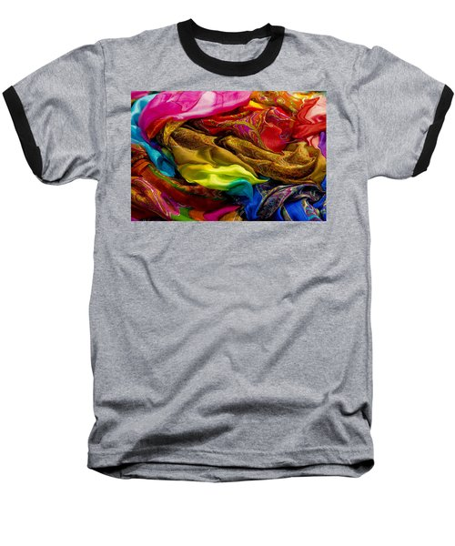 Color Storm Baseball T-Shirt by Paul Wear