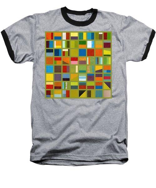 Color Study Collage 64 Baseball T-Shirt