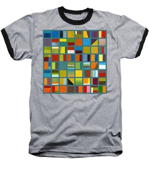 Color Study Collage 67 Baseball T-Shirt