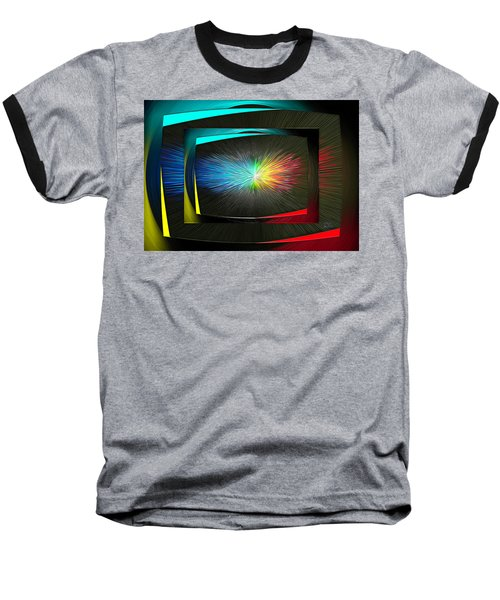Color Tv Baseball T-Shirt