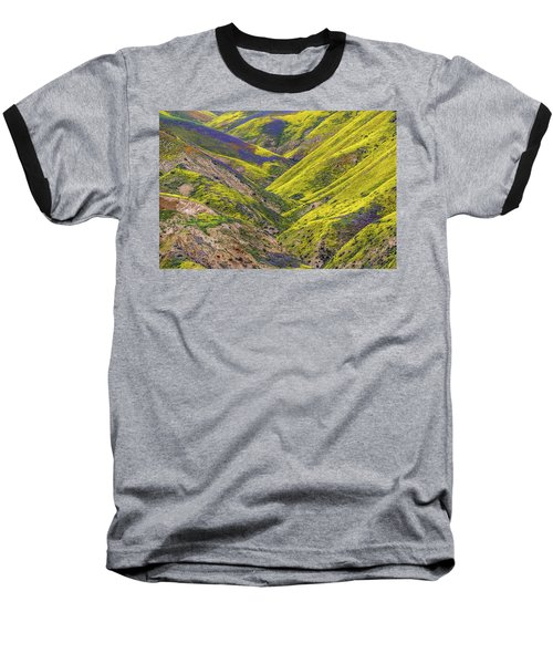 Baseball T-Shirt featuring the photograph Color Valley by Peter Tellone
